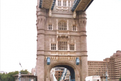 2002 July - London. (52) Tower Bridge. 52