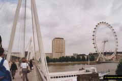 2002 July - London. (55) The London Eye. 55