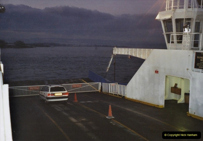 2002 Miscellaneous. (1) Your Host has the only car on the Sandbanks to Studland ferry New Years Day at 0740.001