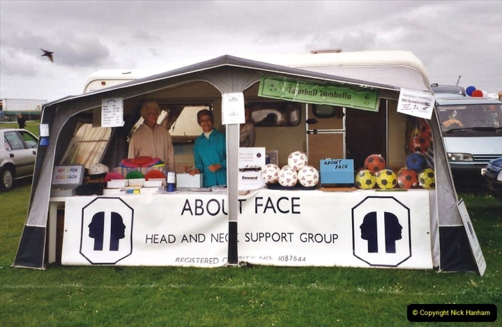 2002 Miscellaneous. (130) YUour Host and Wife support a local cancer charity (for head and neck) About Face.  130