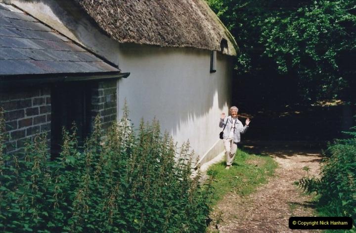2002 Miscellaneous. (133) Thomas Hardy's cottage at Higher Bockhampton, Dorchester, Dorset. (1)133