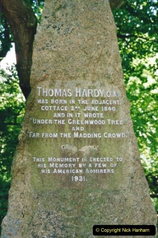 2002 Miscellaneous. (134) Thomas Hardy's cottage at Higher Bockhampton, Dorchester, Dorset. (1)134