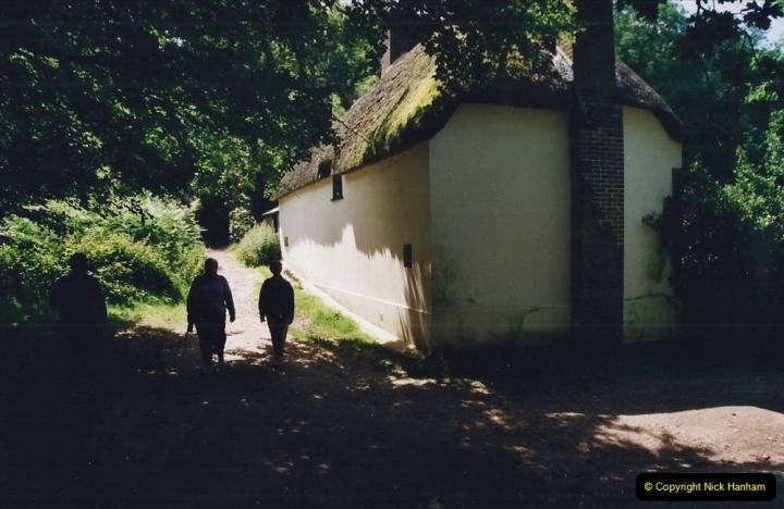 2002 Miscellaneous. (135) Thomas Hardy's cottage at Higher Bockhampton, Dorchester, Dorset. (1)135