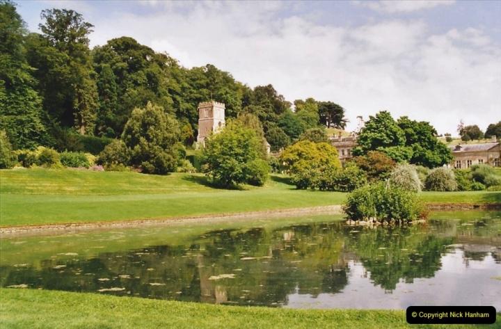 2002 Miscellaneous. (167) Dyrham Park (NT) near Bath, Somerset with friends. 165