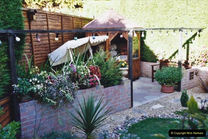 2002 Miscellaneous. (184) Your Host's back garden. 184