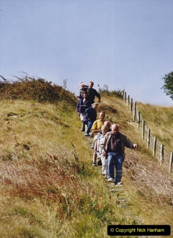 2002 Miscellaneous. (208) A Dorset Cliff Walk with friends. 208