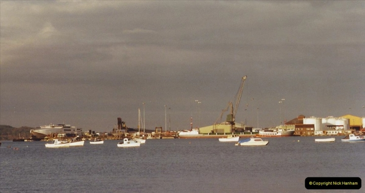 2002 Miscellaneous. (270) New Poole Harbour skyline. 270