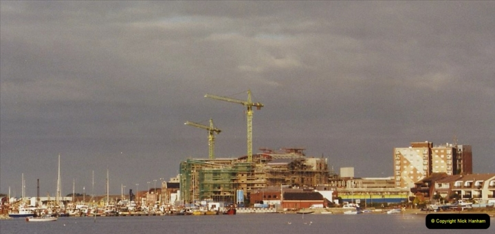 2002 Miscellaneous. (271) New Poole Harbour skyline. 271