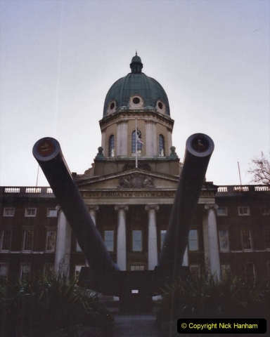 2002 Miscellaneous. (300) London Imperial War Museum.300