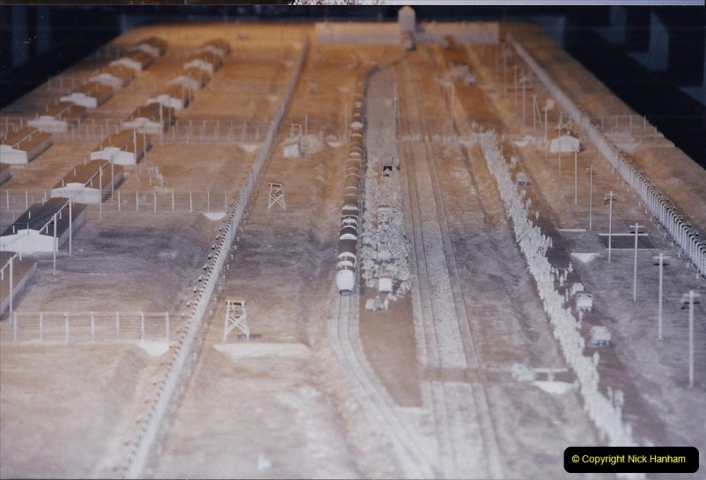 2002 Miscellaneous. (302) London Imperial War Museum Auschwitz Consentration Camp model,  302