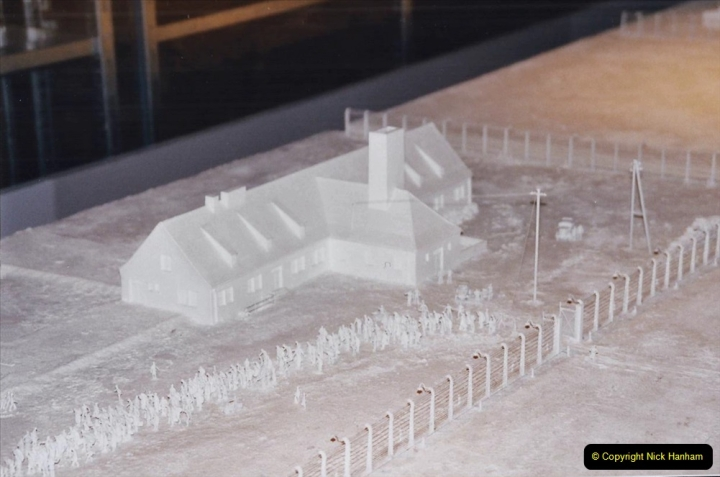 2002 Miscellaneous. (303) London Imperial War Museum Auschwitz Consentration Camp model,  303
