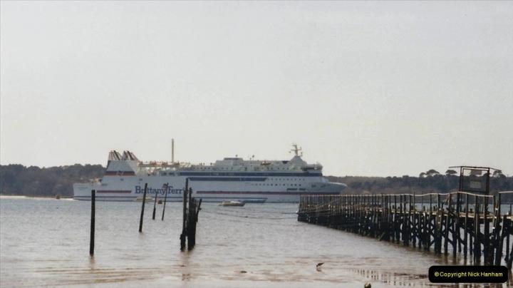 2002 Miscellaneous. (39) The Barfleur entering Poole Harbour, Poole, Dorset.  (1)039