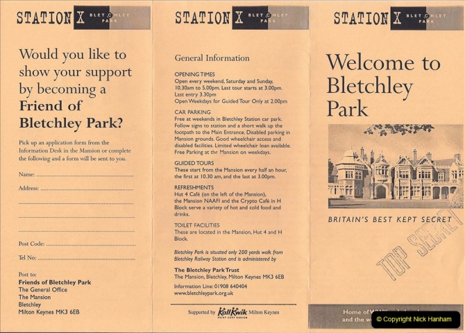 2002 Miscellaneous. (73) Bletchley Park Near Milton Keynes, Bedfordshire. 073
