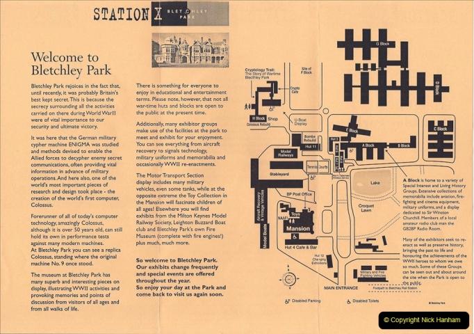 2002 Miscellaneous. (74) Bletchley Park Near Milton Keynes, Bedfordshire. 074