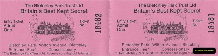 2002 Miscellaneous. (75) Bletchley Park Near Milton Keynes, Bedfordshire. 075