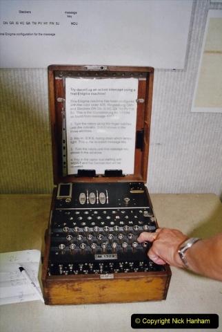 2002 Miscellaneous. (83) Bletchley Park Near Milton Keynes, Bedfordshire. A German ENIGMS code machine. 083