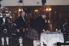 2002 Miscellaneous. (4) Your Host & Wife with friends Burns Night 19 January. 004