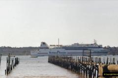 2002 Miscellaneous. (40) The Barfleur entering Poole Harbour, Poole, Dorset.  (1)040