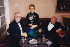 2002 Miscellaneous. (7) Your Host & Wife with friends Burns Night 19 January. 007