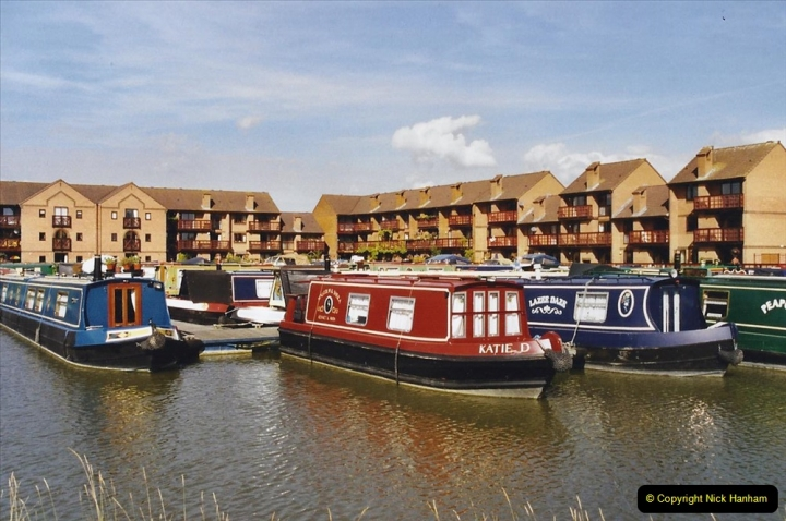 2002 Kennet & Avon Canal and The River Avon narrow boat trip with friends. (1) Staverton Marina Trowbridge, Wiltshire. 001