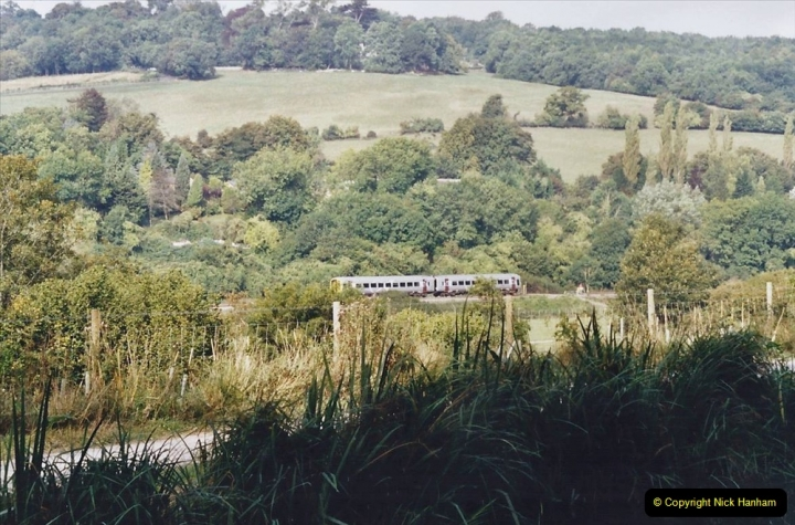2002 Kennet & Avon Canal and The River Avon narrow boat trip with friends. (31) 031