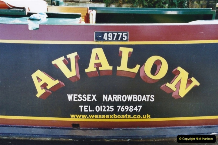 2002 Kennet & Avon Canal and The River Avon narrow boat trip with friends. (5) Staverton Marina Trowbridge, Wiltshire. 005