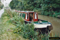 2002 Kennet & Avon Canal and The River Avon narrow boat trip with friends. (12) Bradford on Avon, Wiltshire. 012