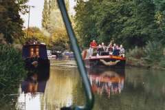 2002 Kennet & Avon Canal and The River Avon narrow boat trip with friends. (14) Bradford on Avon, Wiltshire. 014