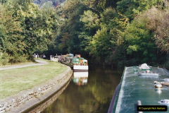 2002 Kennet & Avon Canal and The River Avon narrow boat trip with friends. (30) 030