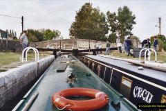 2002 Kennet & Avon Canal and The River Avon narrow boat trip with friends. (8) Bradford on Avon, Wiltshire. 008
