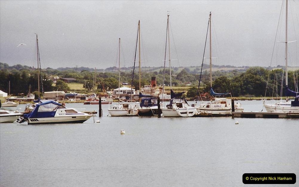 2003 July - IOW. (17) River Medina.