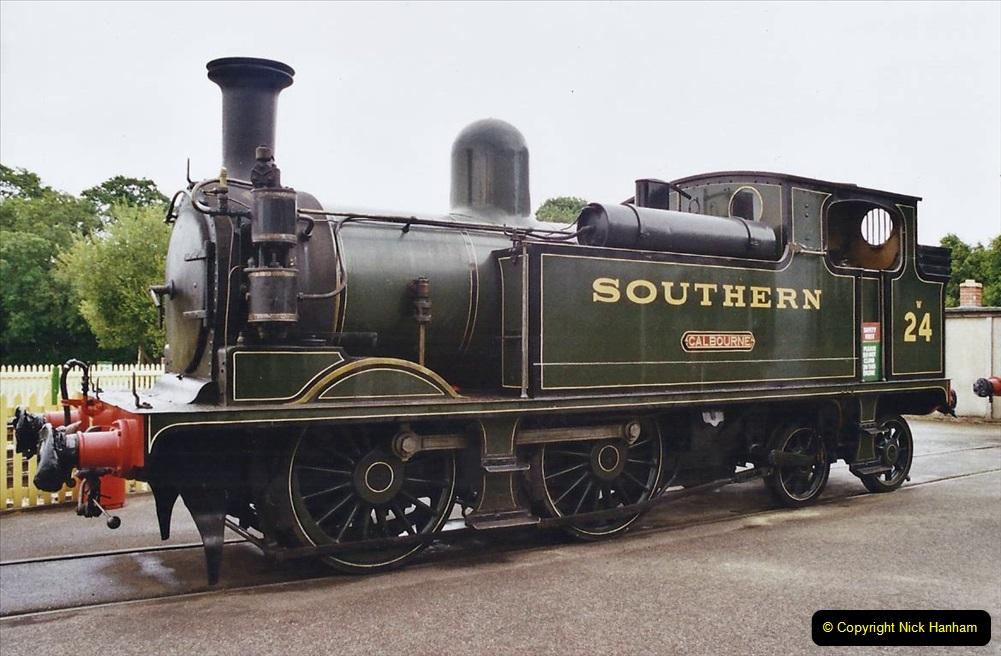2003 July - IOW. (20) Isle of Wight Railway.