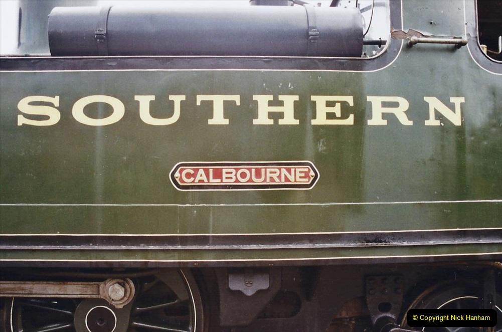 2003 July - IOW. (21) Isle of Wight Railway.