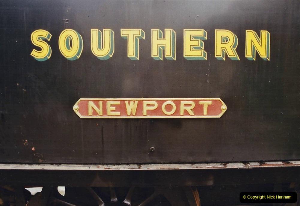 2003 July - IOW. (24) Isle of Wight Railway.