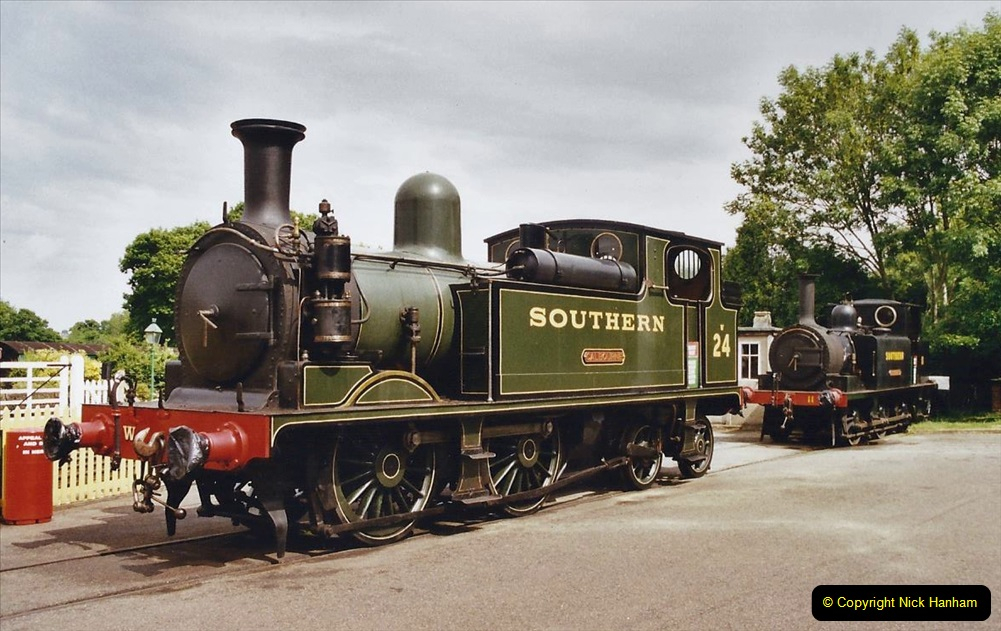 2003 July - IOW. (25) Isle of Wight Railway.