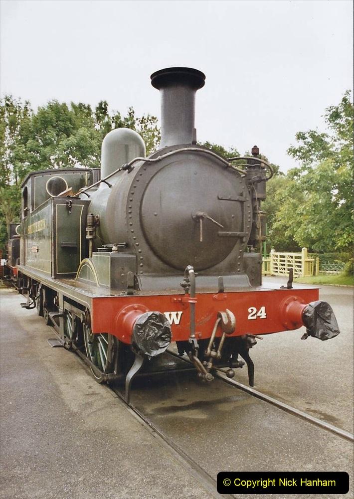 2003 July - IOW. (26) Isle of Wight Railway.