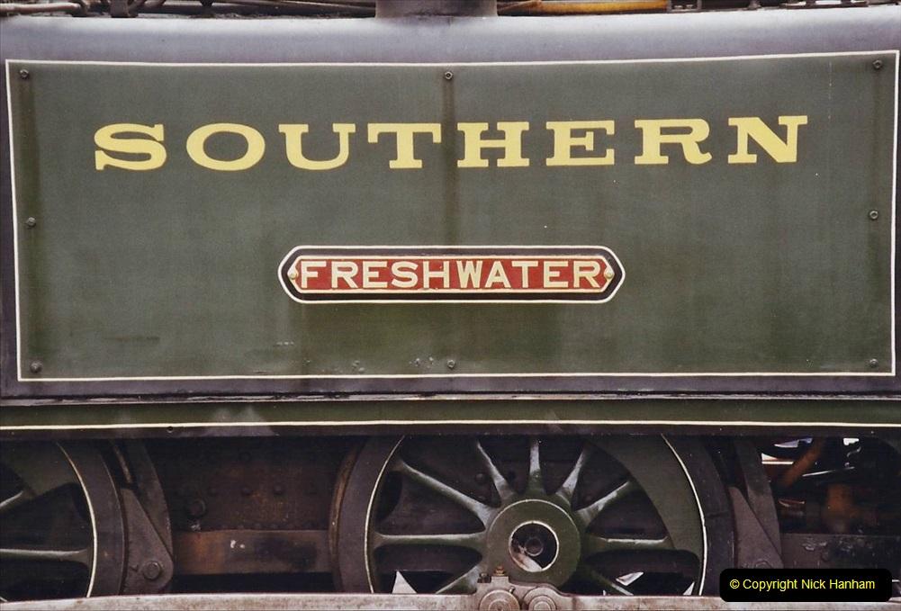 2003 July - IOW. (31) Isle of Wight Railway.