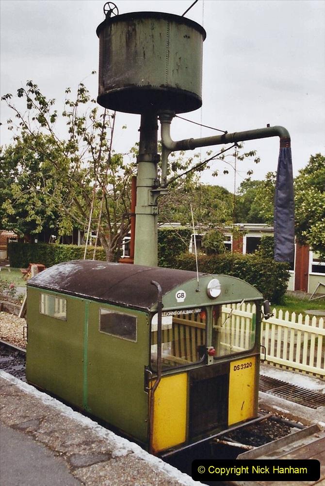 2003 July - IOW. (32) Isle of Wight Railway.