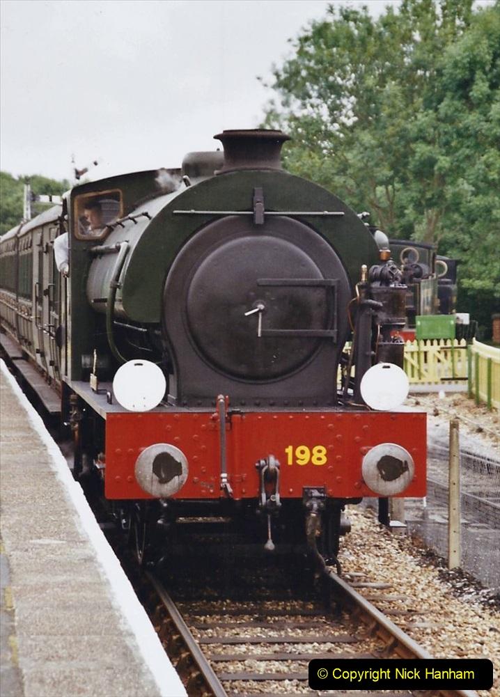 2003 July - IOW. (34) Isle of Wight Railway.
