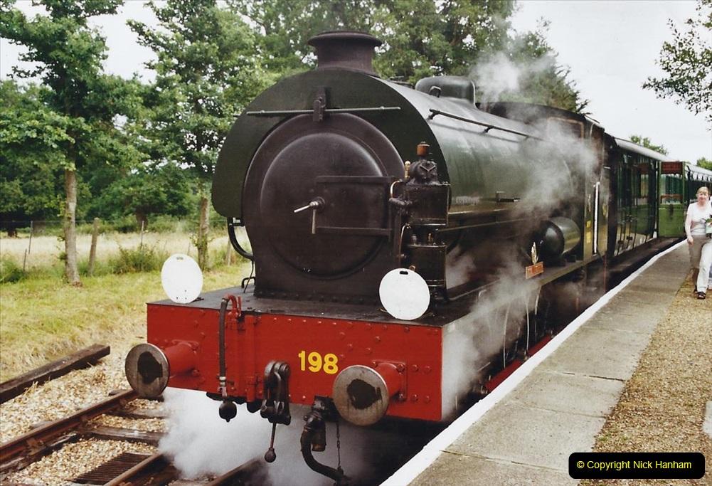 2003 July - IOW. (36) Isle of Wight Railway.