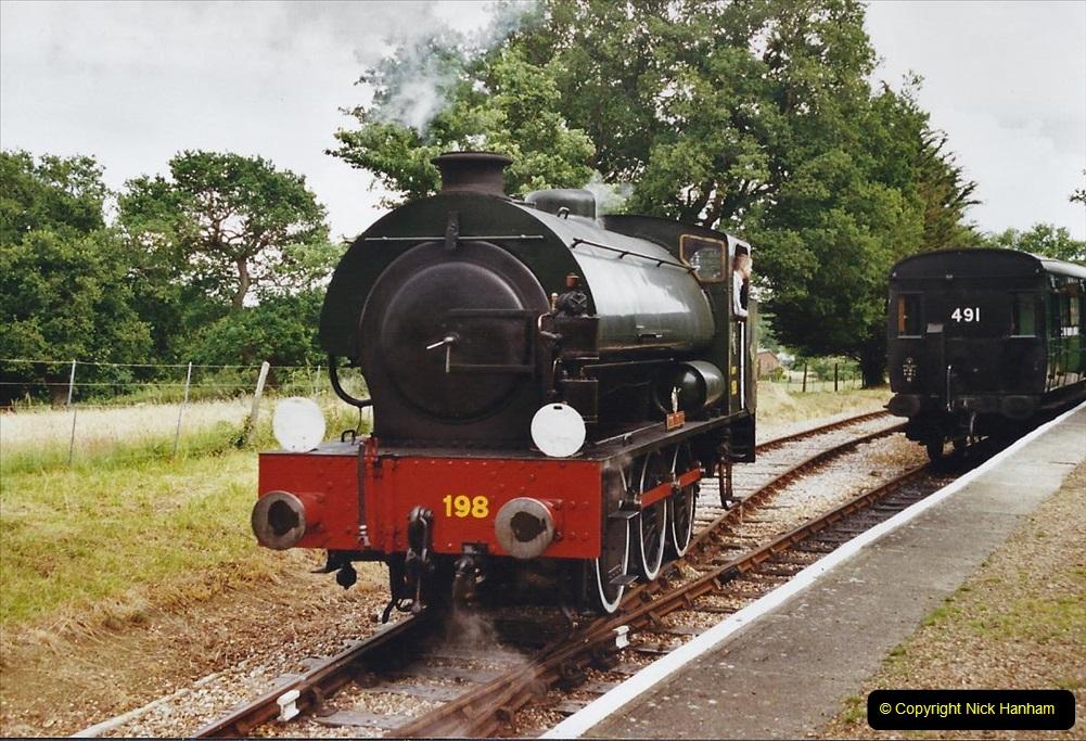 2003 July - IOW. (37) Isle of Wight Railway.