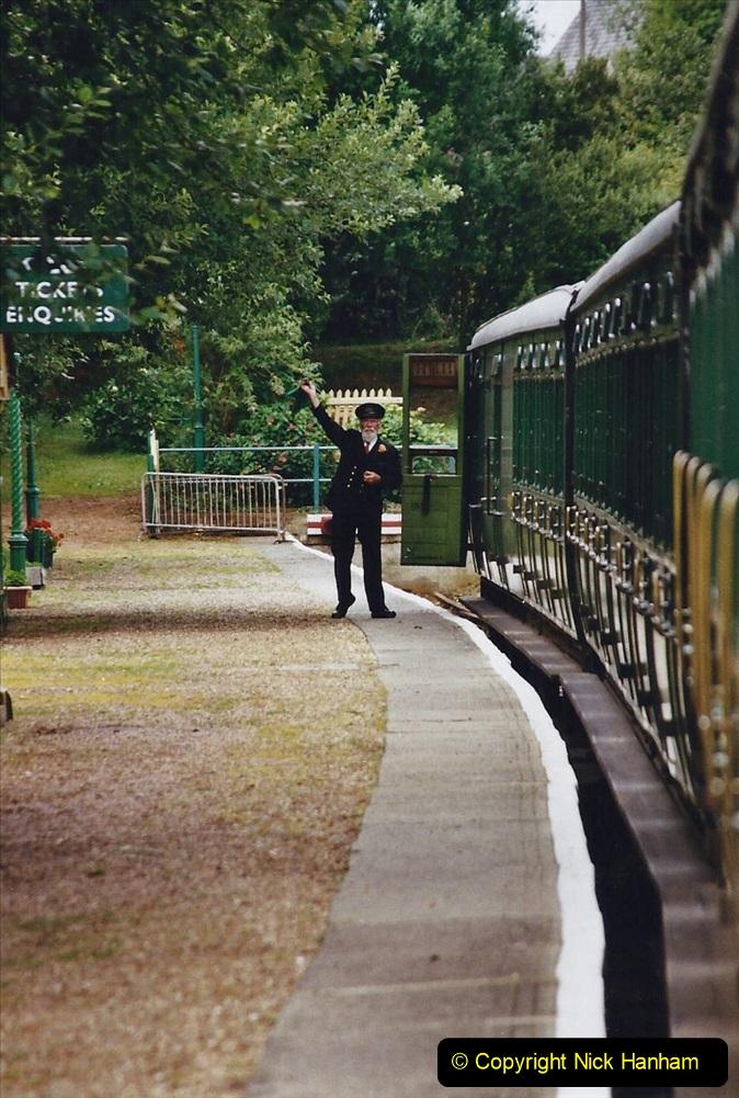 2003 July - IOW. (40) Isle of Wight Railway.
