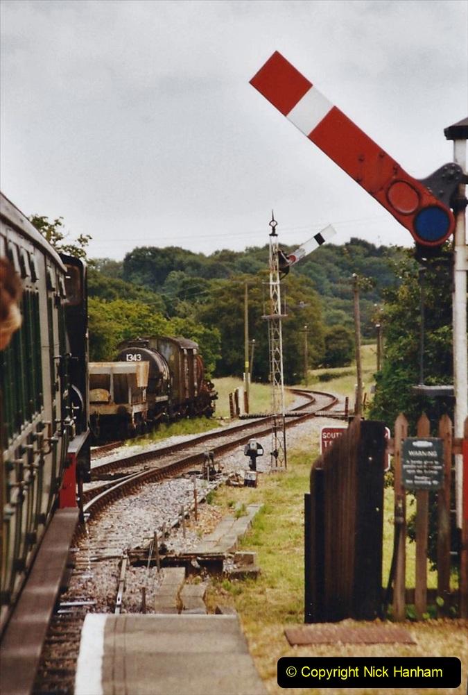 2003 July - IOW. (41) Isle of Wight Railway.