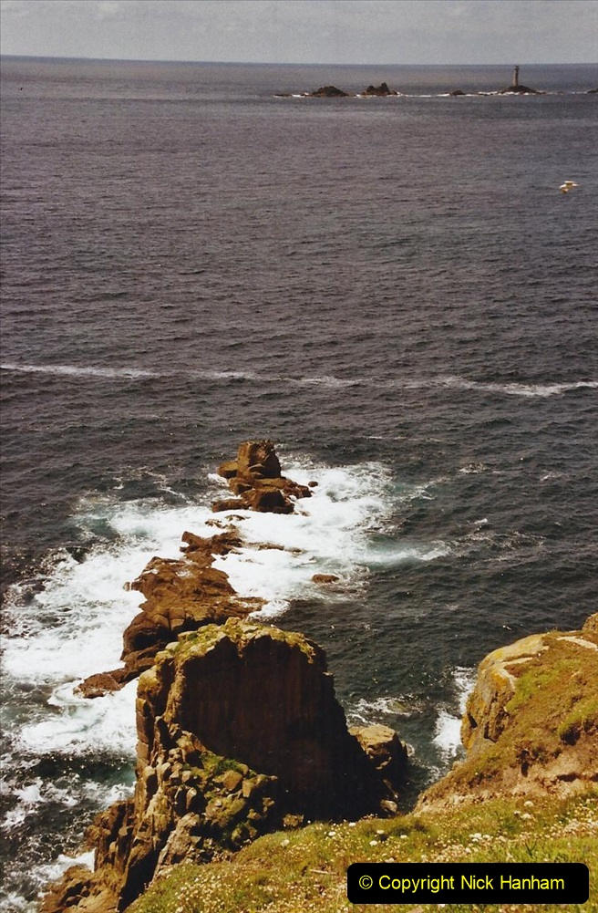 2003 June - Devon & Cornwall. (37) Lands End. 37