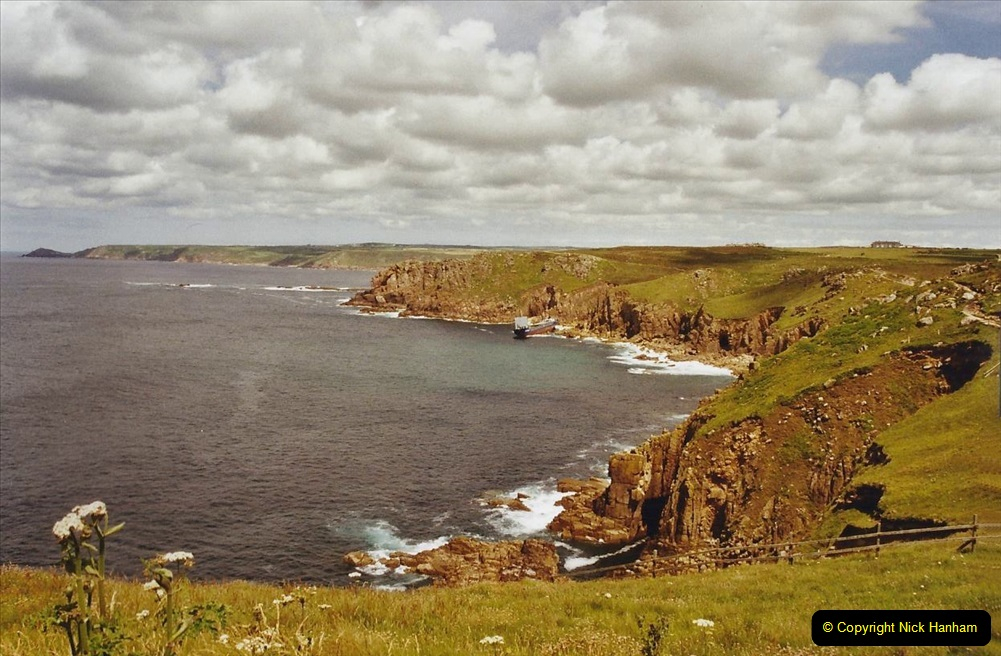 2003 June - Devon & Cornwall. (38) Lands End. 38