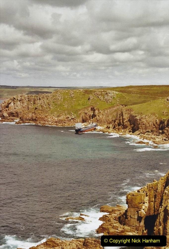 2003 June - Devon & Cornwall. (39) Lands End. 39