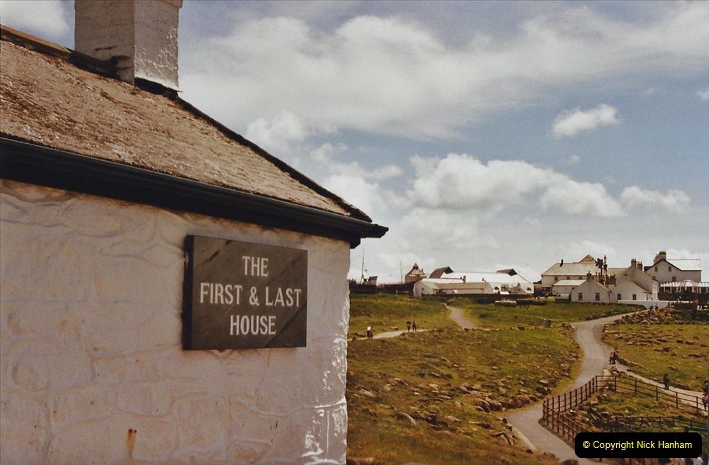 2003 June - Devon & Cornwall. (40) Lands End. 40