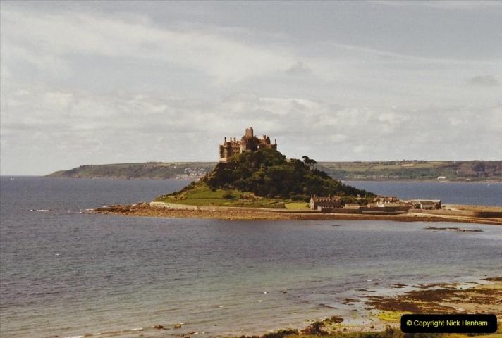 2003 June - Devon & Cornwall. (27) St. Michael's Mount. 27
