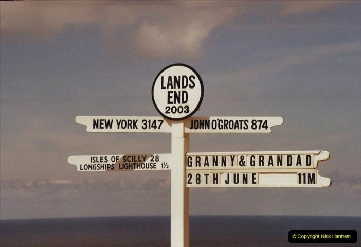 2003 June - Devon & Cornwall. (35) Lands End. 35