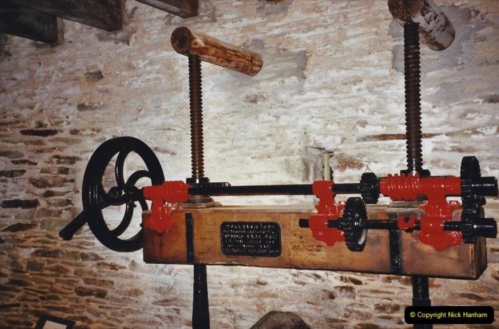 2003 June - Devon & Cornwall. (56) Cornish Cider Farm. 56